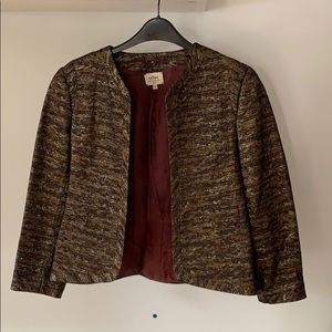 Beautiful sparkly holiday jacket from Aritzia